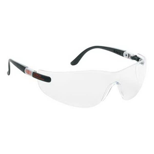 Wrap-around Safety Glasses With Ratchet Temples Photo