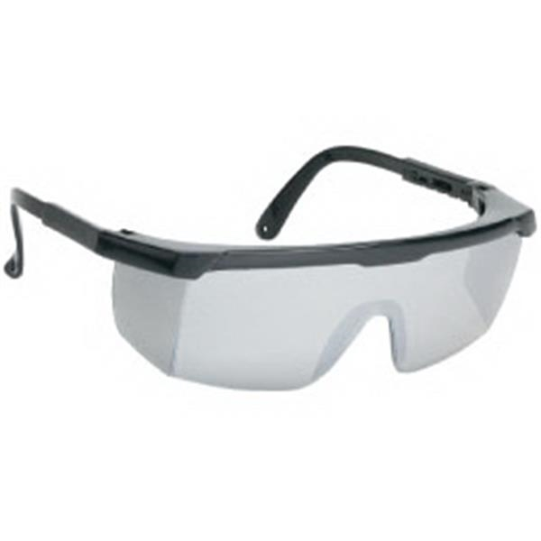 Silver Mirror Lens - Large Single-lens Safety Glasses Photo
