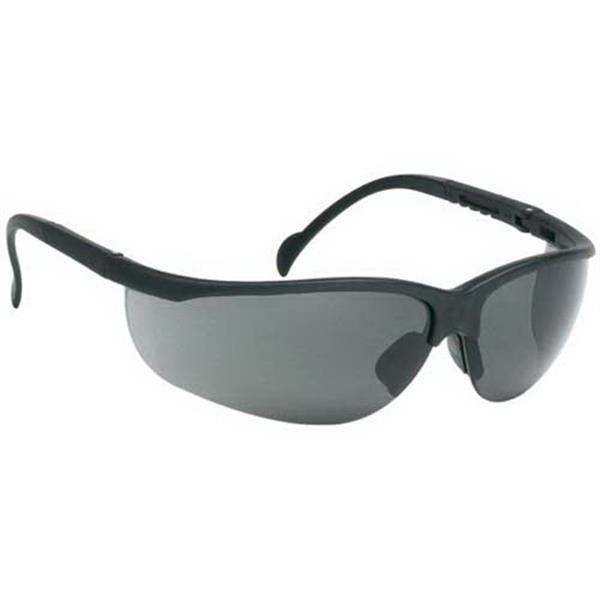 Gray Anti-fog Lens - Wrap-around Safety Glasses Photo