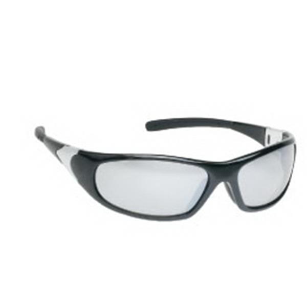 Silver Mirror Lens - Sports Style Safety Glasses Photo