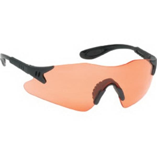 Red Lens - Styling Single-piece Lens Safety Glasses With Black Frame Photo