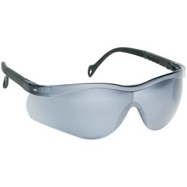 Gray Lens - Single-piece Lens Wrap-around Safety Glasses Photo