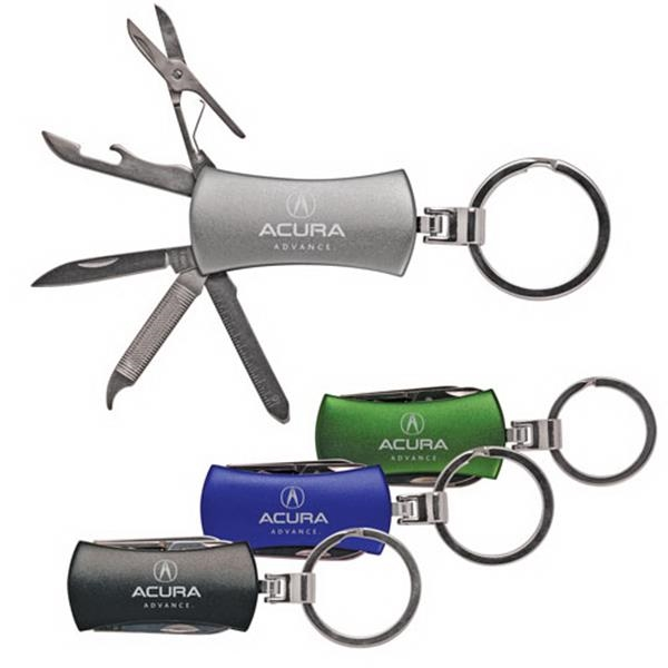 7 Function Pocket Knife With Key-ring Photo