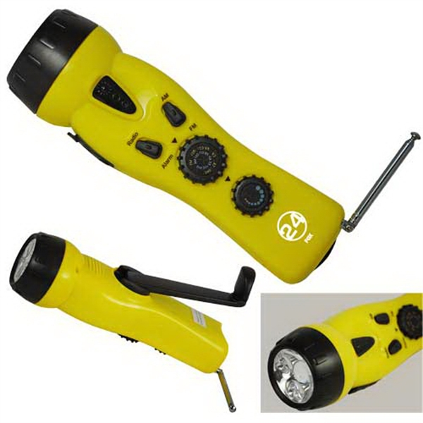 Dynamo - 4 In 1 Emergency Radio/flashlight Photo