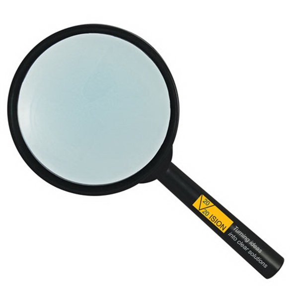 "5x Power Hand Held Magnifier, 3"" Glass Lens Photo"