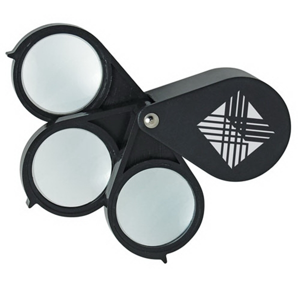 15x Triple-lens Folding Magnifier Photo