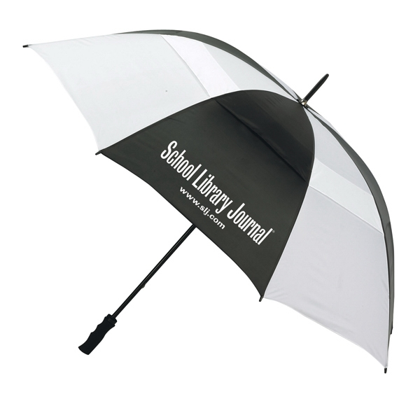 "The Bogey - Vented Sport Umbrella With 60"" Arc And Steel Shaft Photo"