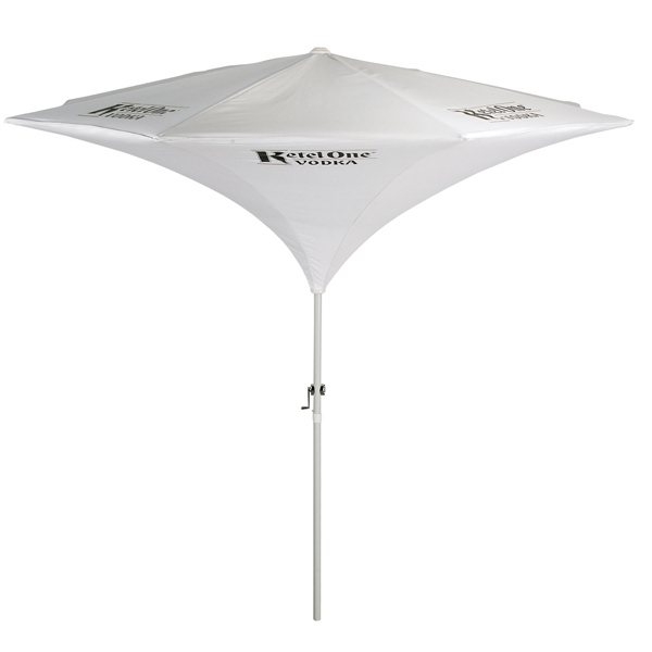 Tulip - Tulip Shaped Aluminum 9 Ft. X 8 Ft Panel Market Umbrella Photo