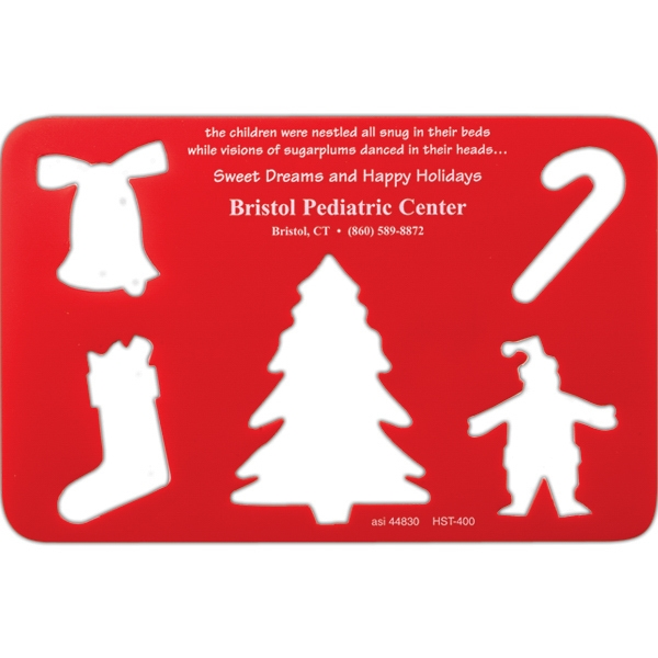 Winter Holiday - Holiday Poly Stencil Are A Great Way To Trace And Create Holiday Art Photo