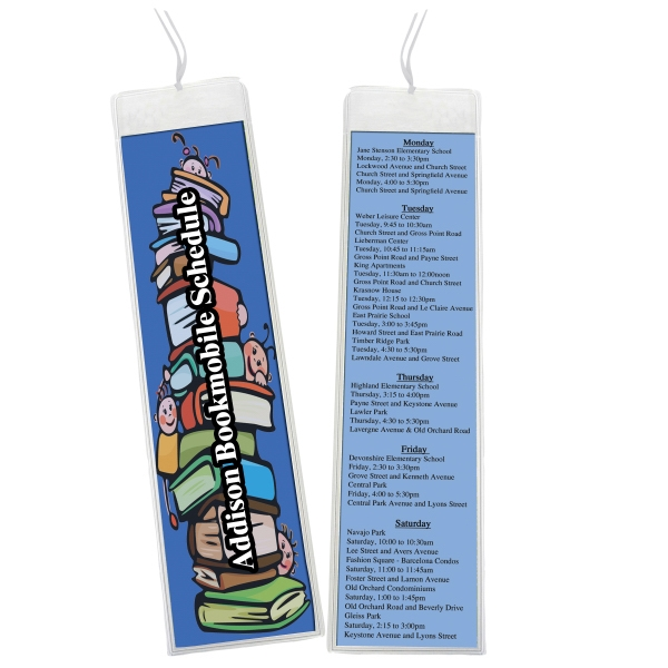 Open Sleeve Bookmark Photo