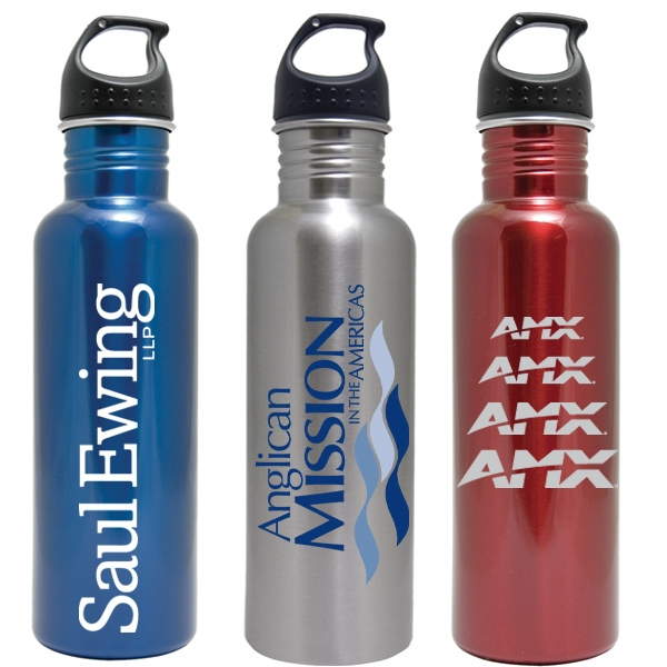 Stainless Steel Water Bottle, 25 Ounce Wide Mouth Photo