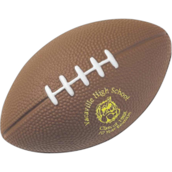 Large Football Shape Stress Reliever Photo