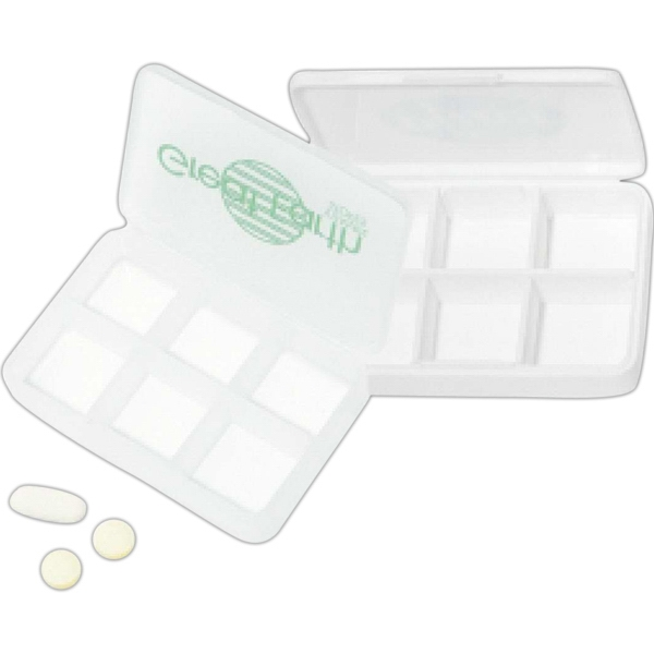 Six Compartment Pill Box Photo