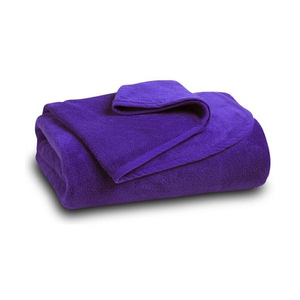Purple Coral Fleece Blanket
