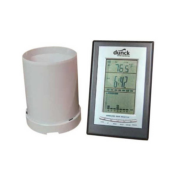 Rain Gauge And Weather Station Photo