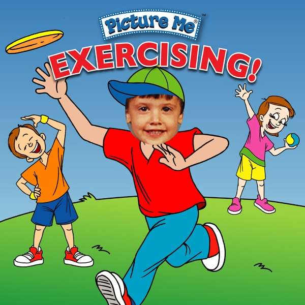 Pictureme (r) - Child's Book Teaching How Exercising Can Be Fun! Photo