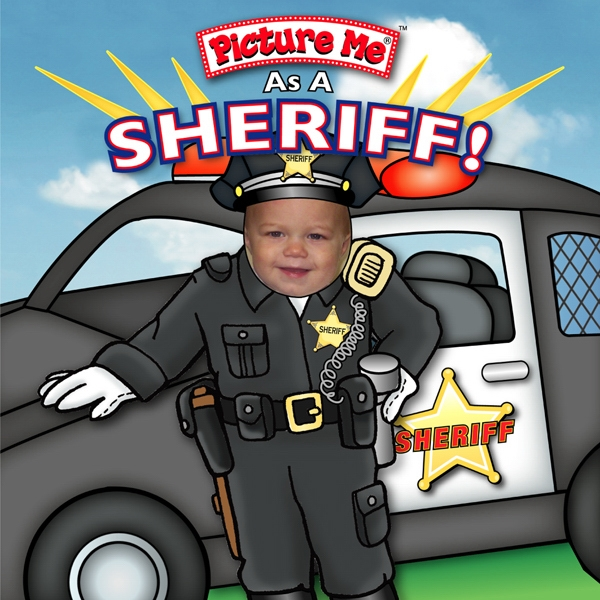 Pictureme (r) - Child's Book Teaching What It Is Like To Be A Sheriff Photo