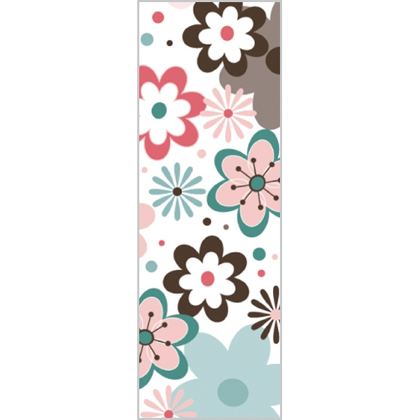Tapetastic (r) - Charming Flowers - Repositionable Designer Tape. Acid Free And Photo Friendly Photo