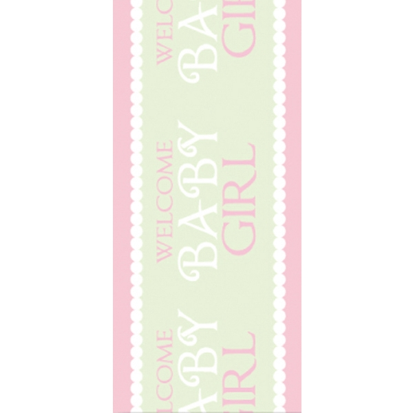 Tapetastic (r) - Baby Girl - Repositionable Designer Tape. Acid Free And Photo Friendly Photo