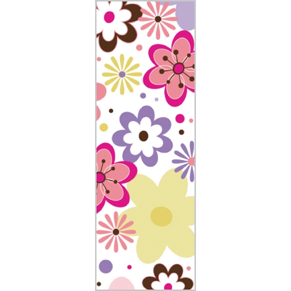 Tapetastic (r) - Retro Flowers - Repositionable Designer Tape. Acid Free And Photo Friendly Photo