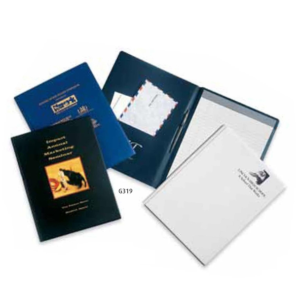 "Heat Sealed Pad Folder - Vinyl Portfolio Of Size 9"" X 12"" Photo"