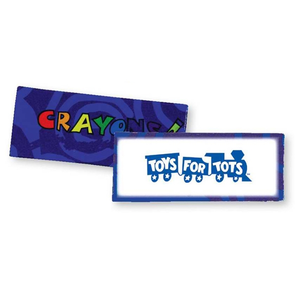 Blue - Four Pack Of Crayons. Blank Photo