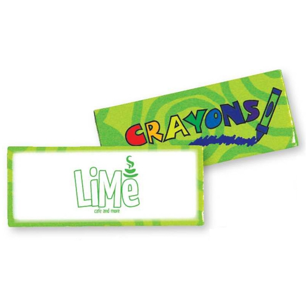 Green - Four Pack Of Crayons. Blank Photo