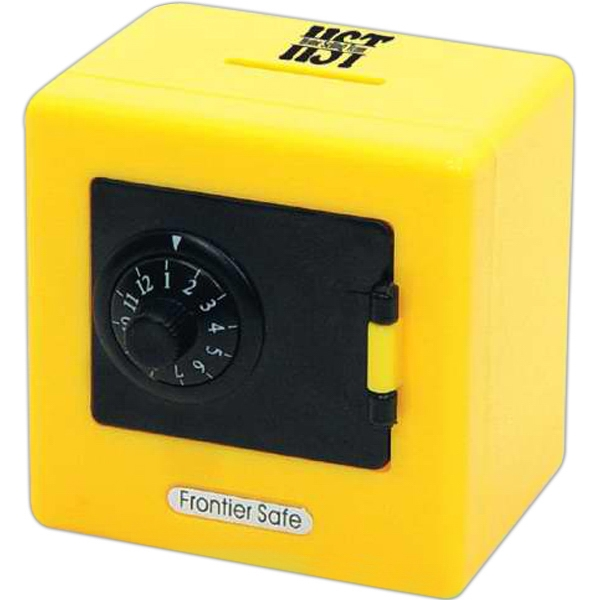 Yellow - Safe Bank With Combination Photo