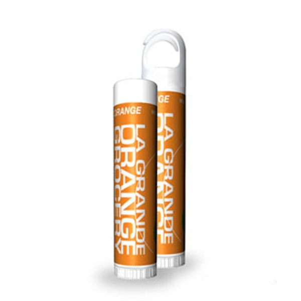 Orange Flavored Lip Balm Stick With Custom Label Photo