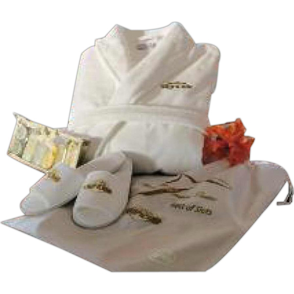 Cabana Bay (tm) - Travel Gift Set With Slippers And Velour Robe Photo
