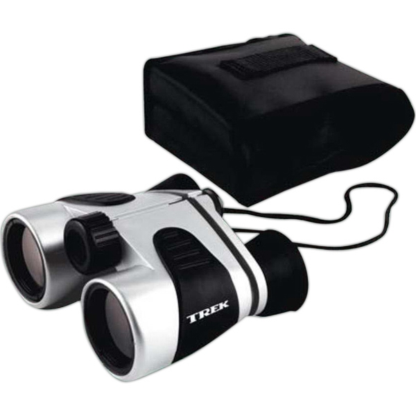 Dual Tone Binocular With Black Rubber Grips And Eyepieces Photo