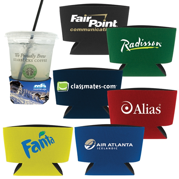 50 Working Days - 3d Collapsible Event Coaster, Introducing The New One Size Fits All Insulated Photo