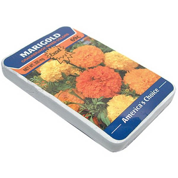Smasht (tm) - Flower Seed Pack - Auto Postcard Smasht, Flower Seed Pack, Frozen Meal Shaped Compressed T-shirt Photo