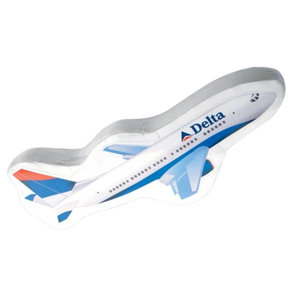 Compressed T (tm);smash T - Passenger Jet - Airplane, Corporate Jet, Military Airplane, Shark Shaped Compressed T-shirt Photo