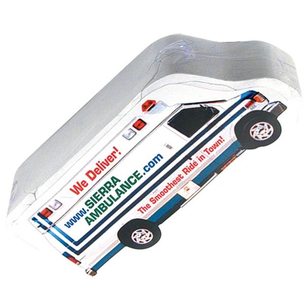 Smasht (tm) - Ambulance - Delivery Truck, School Bus, Emergency Vehicle Shaped Compressed T-shirt Photo