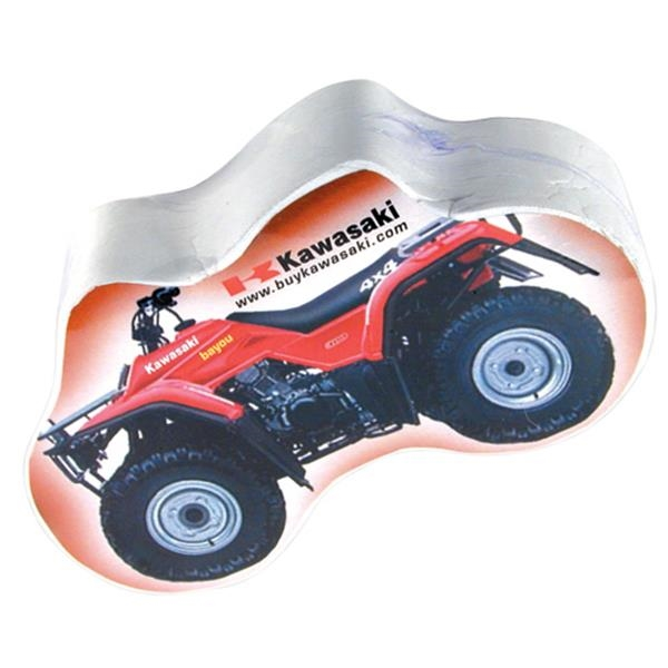 Compressed T (tm);smasht (tm) - Atv - Atv Quad, Bicycle, Or Handcuffs Shaped Compressed T-shirt Photo