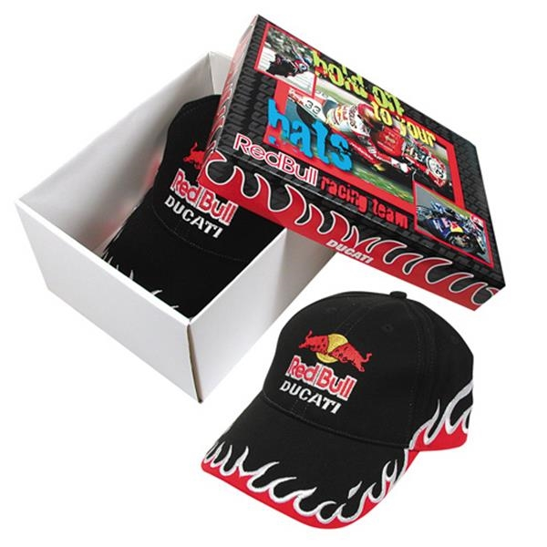 Promopack (tm) - Hat Box - Ducati - Hat Box With Band Photo