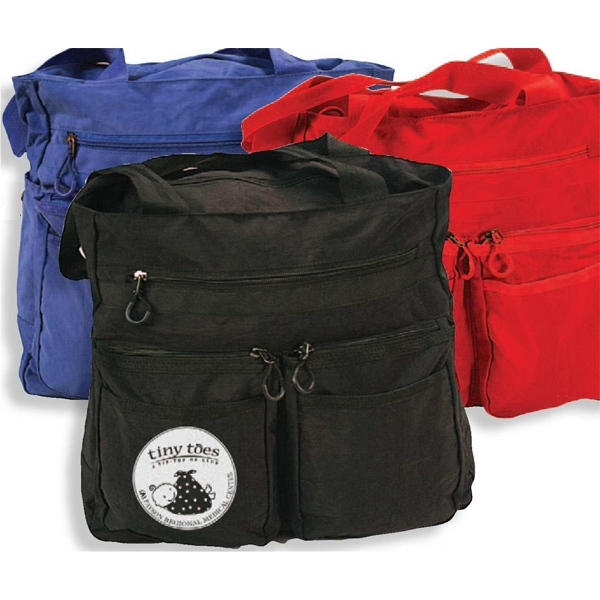 The Workaholic - Tote Bag Has Zippered Main Compartment And Many Pockets Photo
