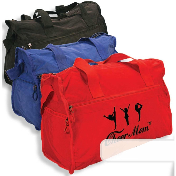 The Getaway - Duffel Bag Has Large Front Zippered Pocket And Two Side Pockets Photo