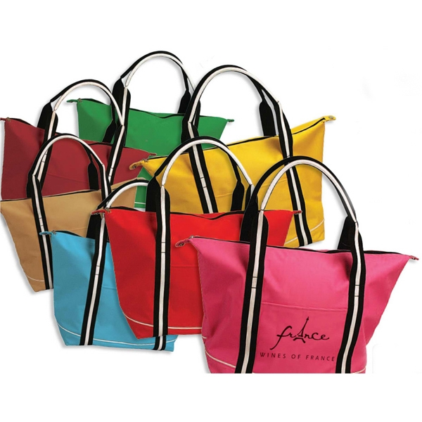 Town And Country - Tote Bag Made Of 600 Denier Polyester With Hard Bottom Photo