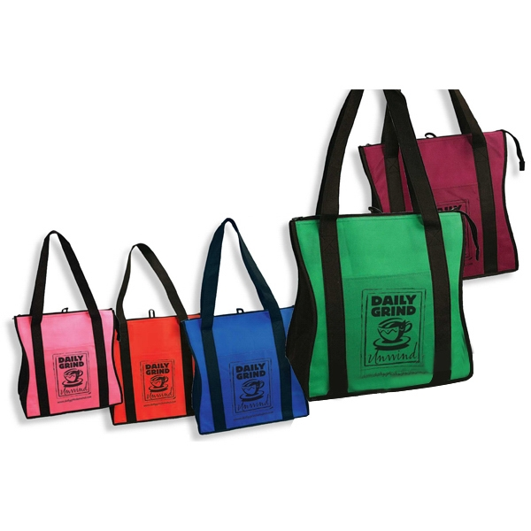 Contour - Insulated Tote Bag With Zipper Closure Photo