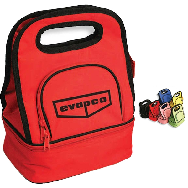 Uptown - Lunch Cooler Made Of 600 Denier Polyester With Two Compartments Photo