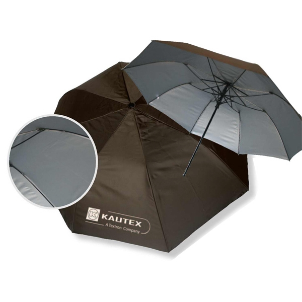 Diamond Dobby - Deluxe Umbrella, Diamond Dobby Nylon With Sure Grip Rubber Handle. Auto Open Photo