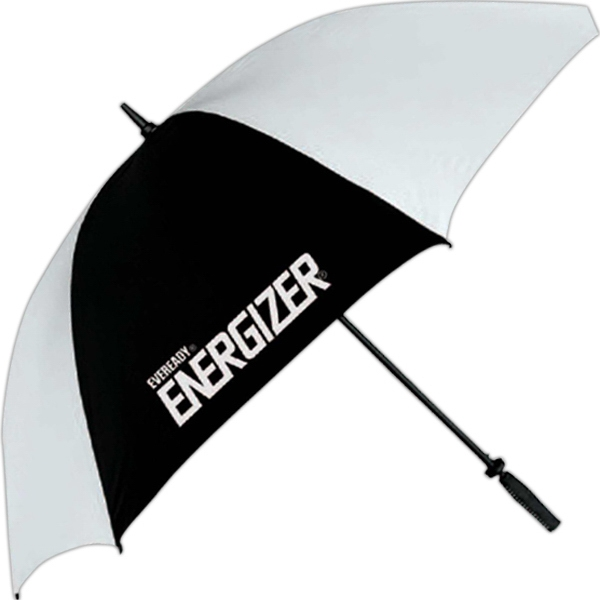 "Golf Umbrella With 62"" Arc With Fiberglass Ribs And A Golf Grip Handle Photo"