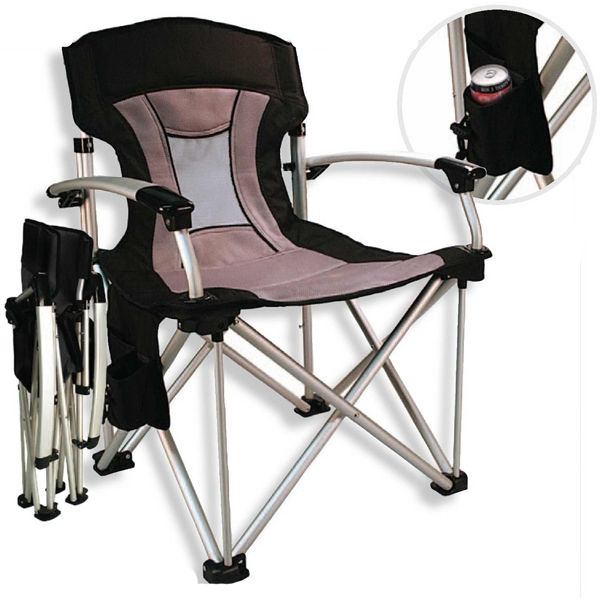 Chairman - Aluminum Frame Chair With Thick Padding On Seat And Back Photo