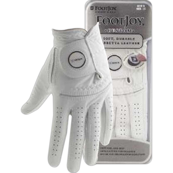 Sof-joy Foot Joy (r) - Golf Glove Made From Leather With Magnetic Ball Marker Photo