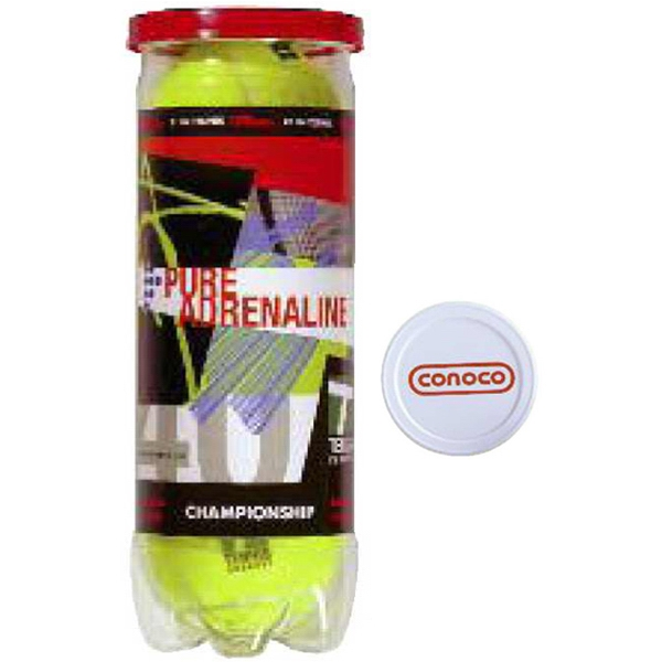 Wilson (r) - Full Can Wrap - Championship Tennis Balls With Custom Can Wrap Photo
