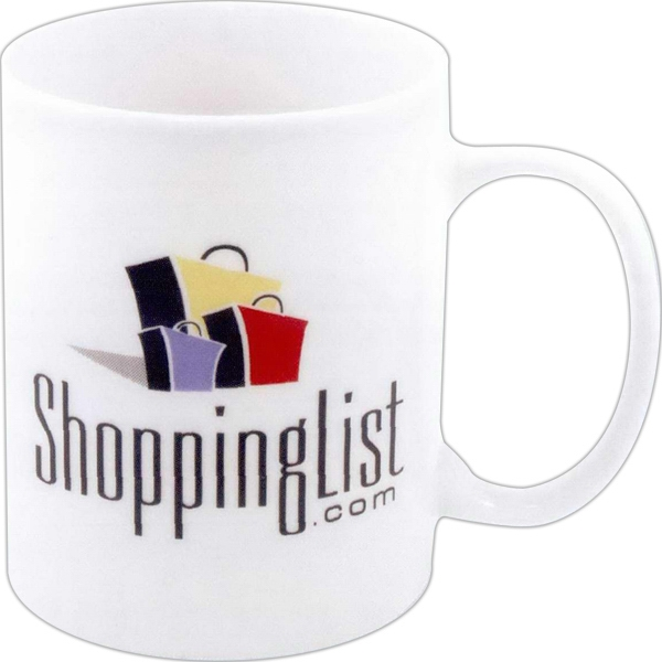 Diplomat - Fine Porcelain Mug With C-shaped Handle, 11 Oz Photo