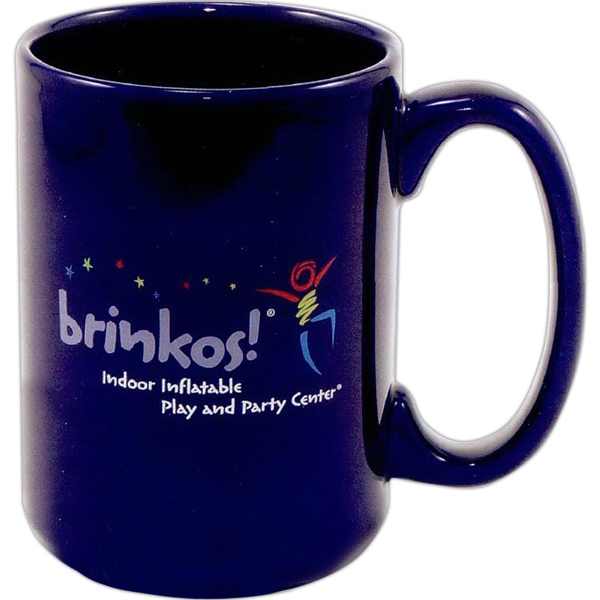 Ceo - Blue - 5 Working Days - Direct Screen Colored Stoneware Mug With D-handle Design, 15 Oz Photo