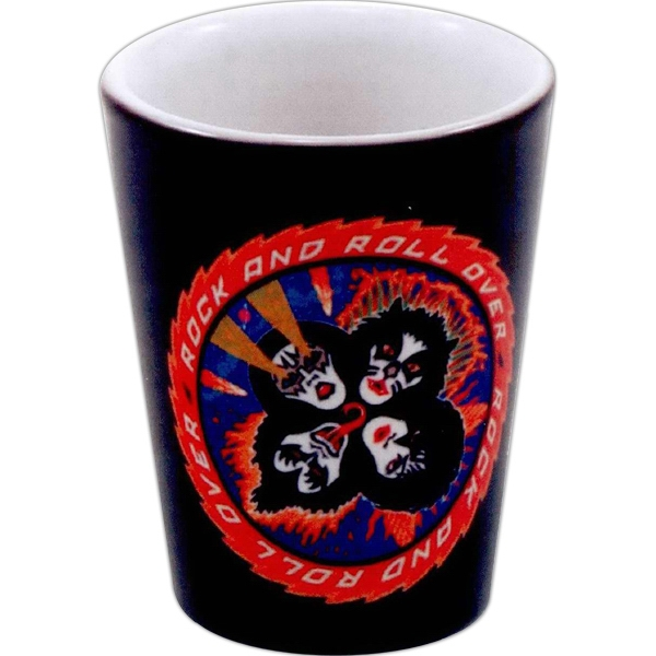 2 Working Days - Full Color Ceramic Shot Glass, 1.5 Oz Photo
